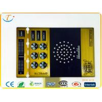 Buy cheap Nicomatic Connector With PCB Keyboard Membrane Switch Panel With SMD / Hand Welding product