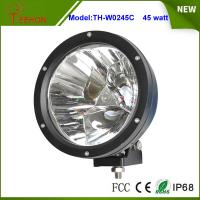 Buy cheap 7 inch 45W Round LED Work Light in Spot Beam for Truck,Jeep,SUV, Offroad UTE 12V or 24V DC product