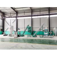 Buy cheap Animal Feed Production Line , Cattle Pellet Machine For Medium Feed Factory product
