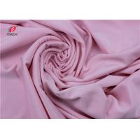China Dry Fit Solid Color Nylon Lycra Spandex Fabric , Lycra Swimwear Fabric on sale