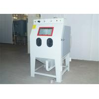 China Dry Sand Blast Cabinet With Dust Collector / Separator 0.8 - 1.2m³ / Min Air Consumption on sale