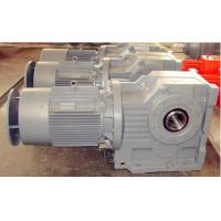 Buy cheap K Series Helical Bevel Gear Reducer With Motor for sugar cane product