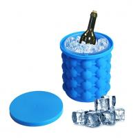 Buy cheap Huge Silicone Ice Cube Molds Can  Bucke Custom Colors For Cooling Wine product