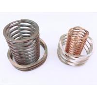 Buy cheap Mechanical Seal Shim Ends Top Multilayered Wave Spring Vs Coil Spring Compression Load product