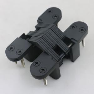 Buy cheap 180 degree black concealed door hinge black soss hinge product
