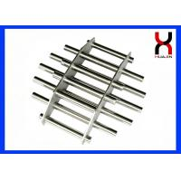 China High Intensity NdFeB Magnetic Grills Iron Ore / Mining / Ceramics Industry Use on sale