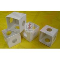 Buy cheap White Cardboard Folding Gift Boxes With Pvc Window , Folding Paper Boxes product