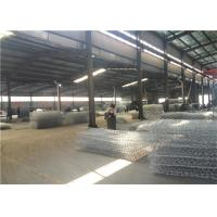 Buy cheap Hot Dip Galvanized Hexagonal Wire Mesh Gabion Boxes For Soil Erosion Preventing product