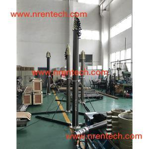 Buy cheap 15m lockable pneumatic telescopic mast 30~400kg payloads product