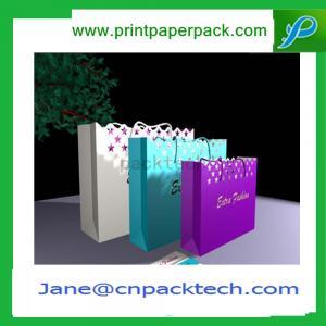 Buy cheap Bespoke Fashion Carrier Bag Colorful Paper Gift Bag Kraft Paper Bag Shopping Bag product