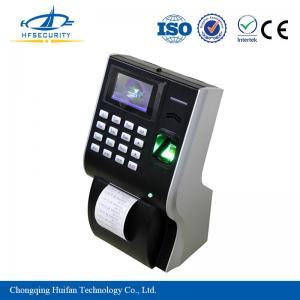 Employee Printer Attendance Tracking Machine with Fingerprint Scanner HF-P10