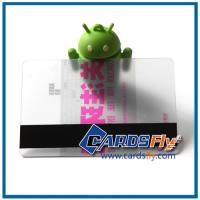 Buy cheap transparent plastic card product