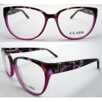 Buy cheap Red Round Fashion Eyeglasses Frames With Demo Lens Protect Eyes product