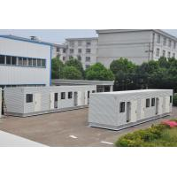 Buy cheap customized prefabricated modern steel structure modular container house product