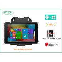 Buy cheap 8 inch Rugged Handheld pc 8inch intel CPU with barcode scanner optional product