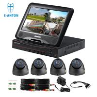 Buy cheap 4CH DOME 720P AHD camera kits with 10 inch LCD screen AHD DVR 3 IN ONE product