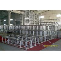 Buy cheap Square Theatre Lighting Truss , 400mm X 600mm  Portable Lighting Truss For Outdoor Party from Wholesalers