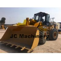 Buy cheap 6 Cylinders Used Caterpillar Wheel Loader , Cat 966G Wheel Loader 6 Ton product