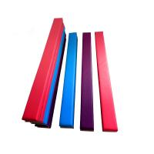 Buy cheap Anti Crack Low Balance Beam , Fold Up Gymnastics Beam EVA Foam Material product