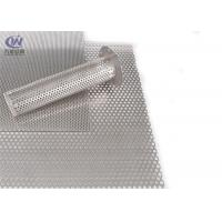 Buy cheap Customized 304 Perforated Metal Sheet , Stainless Steel Sheet Metal product