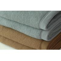 Buy cheap Solid Colour Wool Throw Blanket , Fire Retardant Blanket For Prison product
