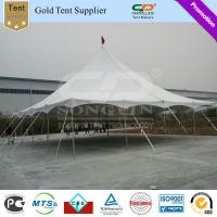Buy cheap Factory Sale Waterproof and UV against outdoor wedding party one pole tents Steel Tent Pegs 40feet x 40feet from Wholesalers