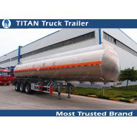 Customized polar tank and trailer with tri - axle 45000 liters capacity