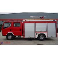 Buy cheap 139KW Max Power Heavy Rescue Fire Truck Fuel Tank 100L AKRON Fire Monitor product