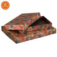 China Custom Top Base Gift Storage Boxes , Colorful Large Gift Boxes With Lids on sale