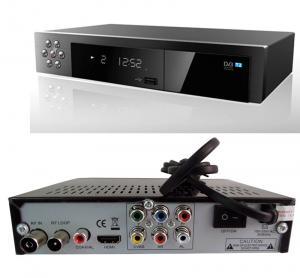 China HD 1080i DVB-T2 Digital Video Broadcast , DVB Digital Terrestrial Receiver With MPEG4 , RCA on sale