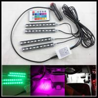 Buy cheap RGB LED strips RGB LED Interior Footwell Lights Strips RGB Atmosphere Footwell Lamp Strips product