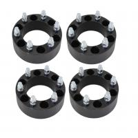 "2"" Black Wheel Spacers Adapters 6x5.5 6x139.7 for Chevy Silverado 1500 Tahoe Suburban"