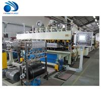 Buy cheap Spiral Feeding Plastic Board / TPE Sheet Extrusion Line 380V 50Hz CE product