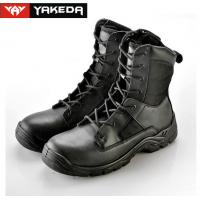 Buy cheap Cow Leather Military Tactical Boots Abrasion Resistant Sandwich Mesh product