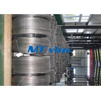 Buy cheap S30400 / S30403 ASME SA269 Welded Stainless Steel Coiled Tubing / Tube For Cable Industry from Wholesalers