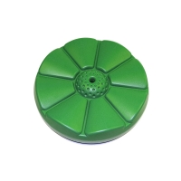 Buy cheap Green Outdoor 1.46 Pounds Disc Tree Swing With Pe Rope product