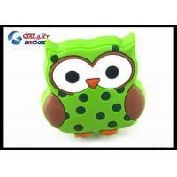 Buy cheap Mr.Owl GreenRubber Kids Bedroom Knobs , Soft Plastic Knobs For Children's Furniture Decorative product