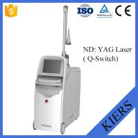 Quality Medical Q Switched Nd Yag Laser Tattoo Removal Machine With Big Spot Size Treatment for sale