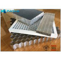 Buy cheap Aluminum Honeycomb Curtain Wall Core Board 0.06mm Thickness Glue Bonded product