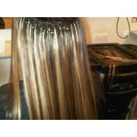 Buy cheap hot sale popular Yaki straight brazilian remy hair loop micro ring hair extension product