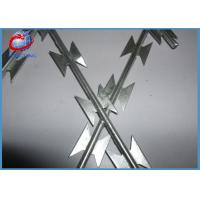 Buy cheap Personalized Color Barbed Tape Concertina Razor Ribbon WireOEM / ODM Acceptable product