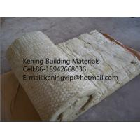 Thermal insulation rock wool blanket with wire mesh for Mineral wool blanket insulation