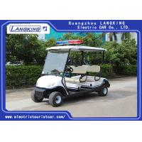 Buy cheap Four Person Electric Golf Buggy With Free Maintain Acid Battery / Mini Electric Golf Cart product