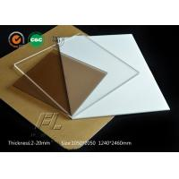 Buy cheap 4mm flexible acrylic sheet scratch resistant acrylic sheet apply to clean room partition product