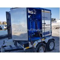 Buy cheap Mobile Trailer Mounted Vacuum Transformer Oil Purifier/Insulation Oil Filtration /Dielectric Oil Purification System product
