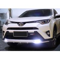 Buy cheap TOYOTA 2016 RAV4 Plastic Front Bumper Guard With LED Light And Rear Guard product