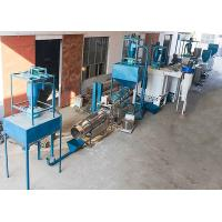 Buy cheap Electric Fish Feed Mill Plant , Floating Fish Feed Pellet Making Machine For Farm product