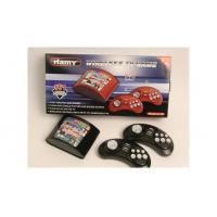 Buy cheap 16bit wireless arcade tv game player built 151in1 new gamelist with black color C-18A product