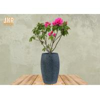 Buy cheap Large Clay Plant Pots Garden Flower Pots Textured Gray Color Pot Planters Outdoor Pots product