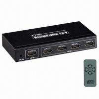 Buy cheap HDMI adapter, 4 input to 1 output with 4 way switch product